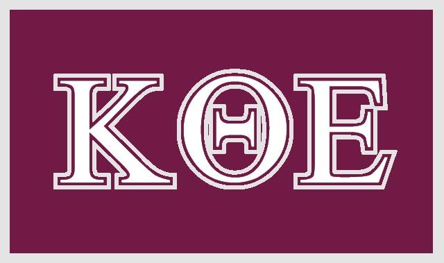 Kappa Theta Epsilon flag