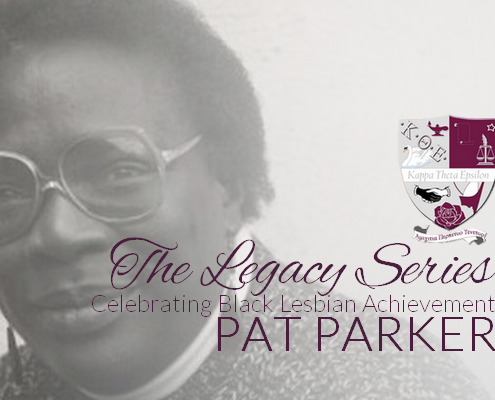 Kappa Theta Epsilon salutes the life, work and legacy of feminist poet, Pat Parker.