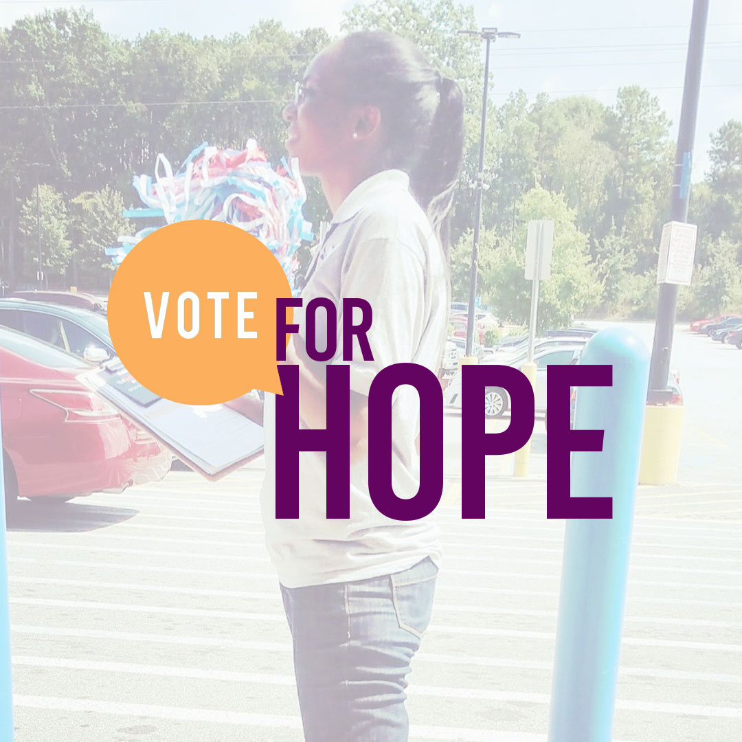 Kappa Theta Epsilon Vote for Hope